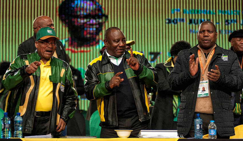 ANC finally reports back on last policy conference commissions, with a bang
