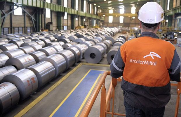 ArcelorMittal SA back in the black