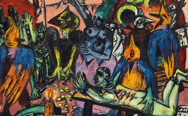 Auction record $45.8m for German painter Beckmann