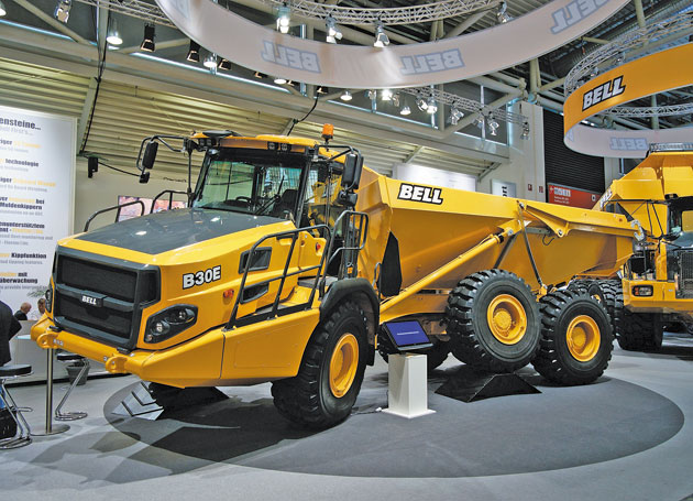 Bell Equipment shares surge as its fortunes improve
