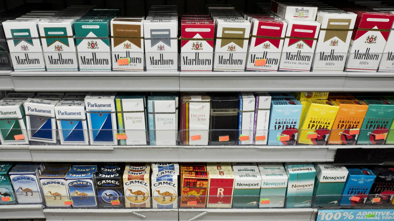 Cigarette companies taking strain