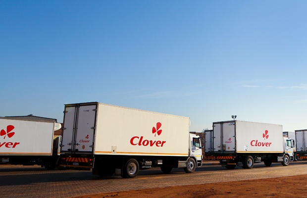 Clover sours on drought and rand volatility