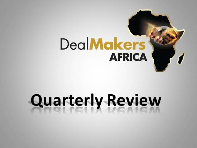 DealMakers AFRICA M&A Analysis Q1-Q3 2020 (excluding South Africa)
