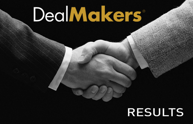 DealMakers M&A Results Q1-Q3 2018