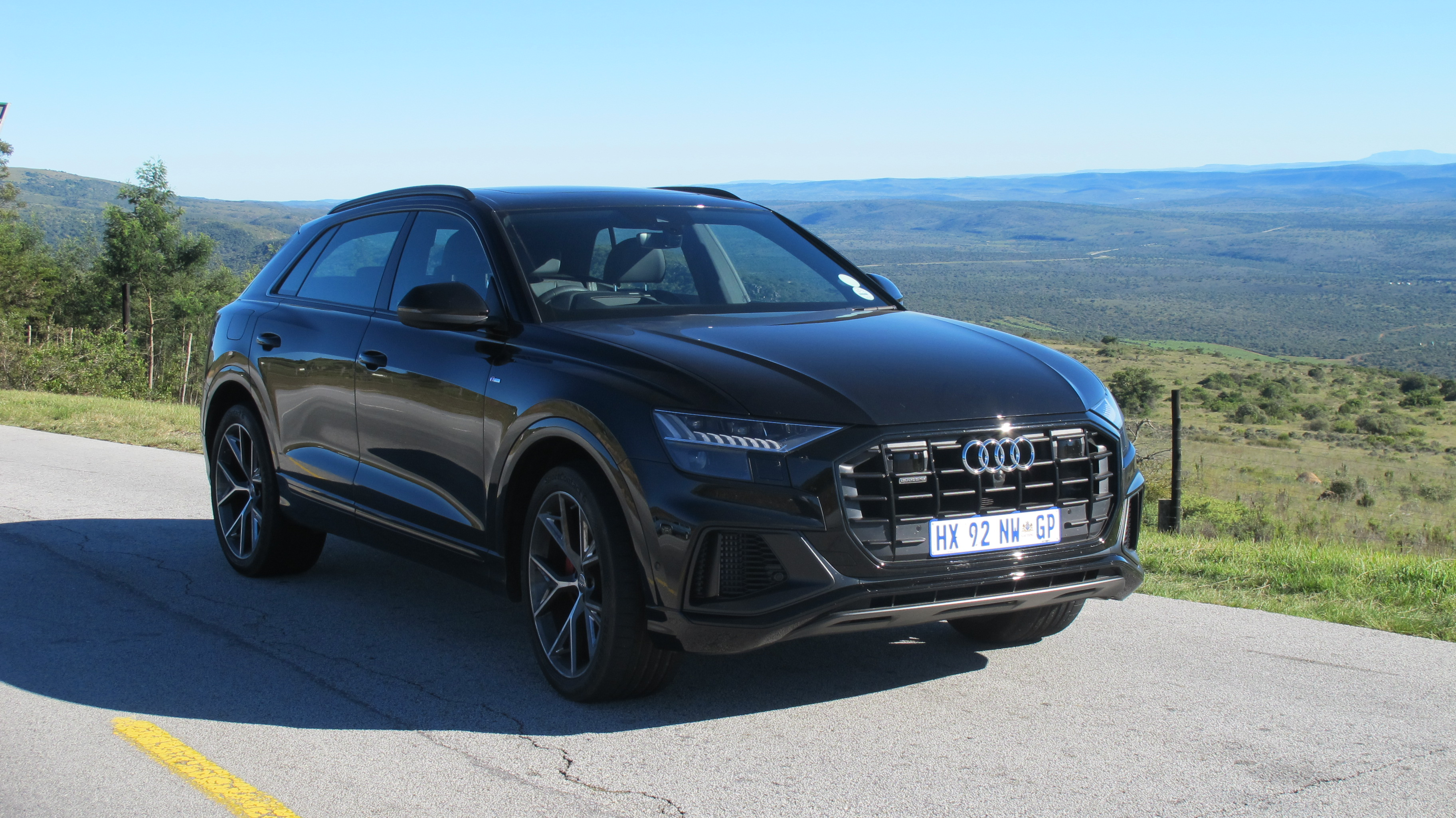 Does the Audi Q8 driving experience match its sportier and aggressive styling?
