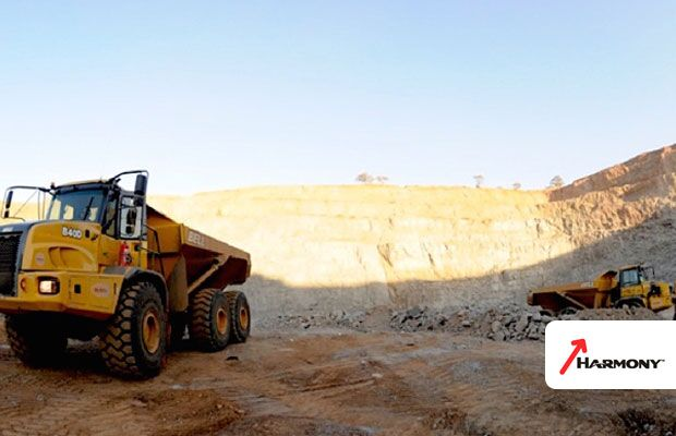 Harmony benefits from higher gold as production recovers