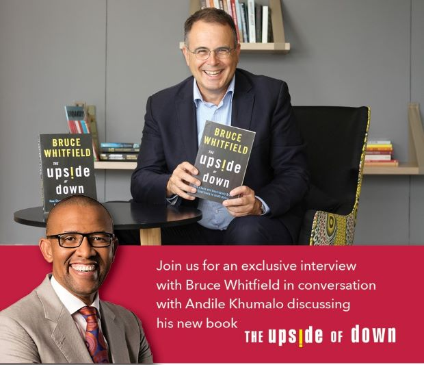 Interview with Bruce Whitfield - The Upside of Down