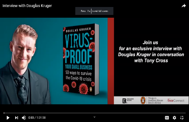 Interview with Douglas Kruger - Virus Proof Your Small Business