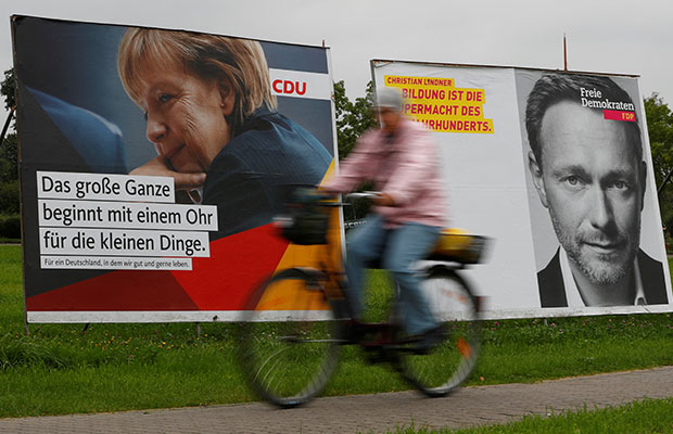 Merkel's authority weakened after elections