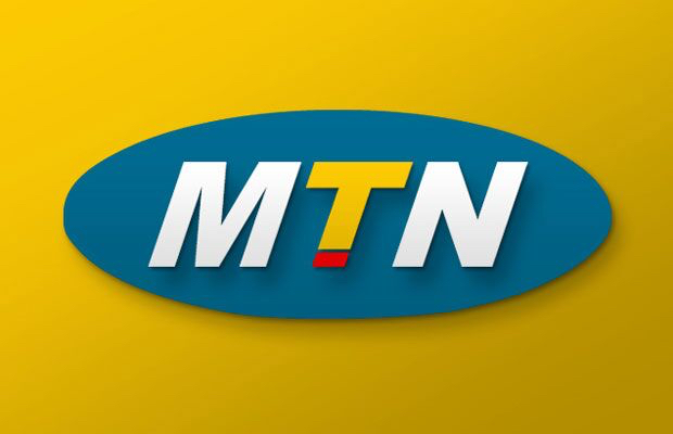 MTN is yellow but the share price is green