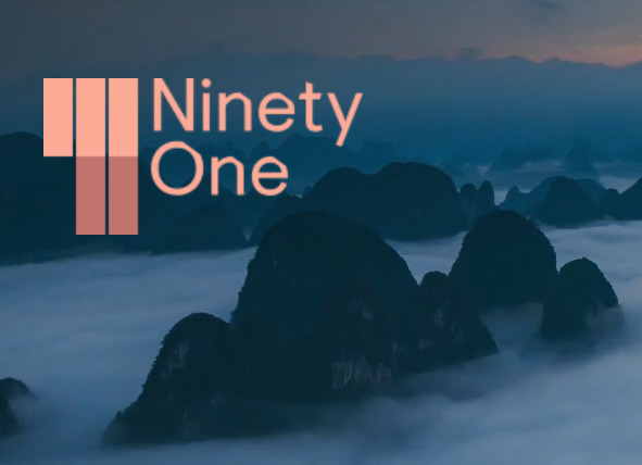 Ninety One lists in volatile market