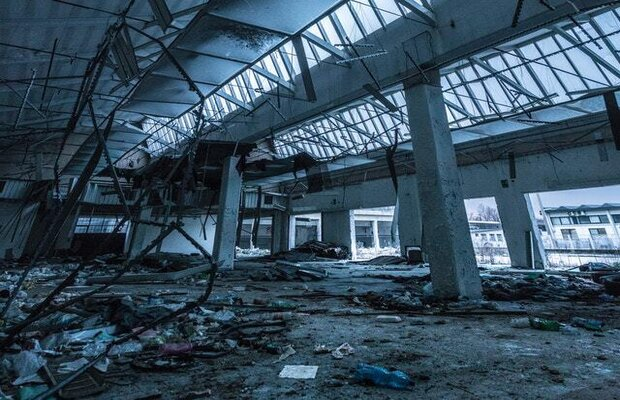 Retailers suffered extensive damage