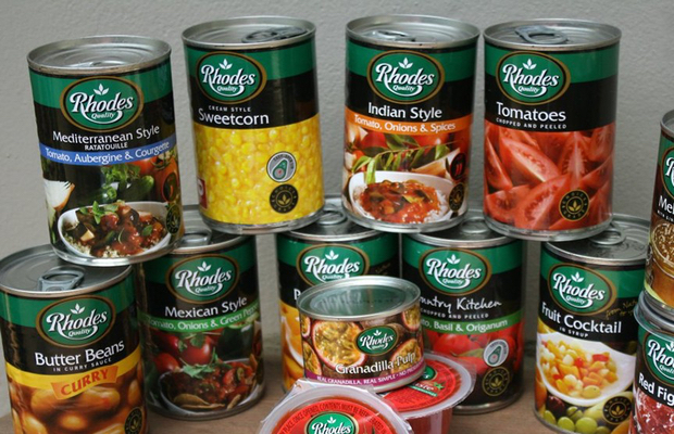 Rhodes reports rising demand for tinned goods