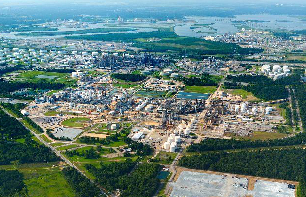 Sasol sinks on Lake Charles