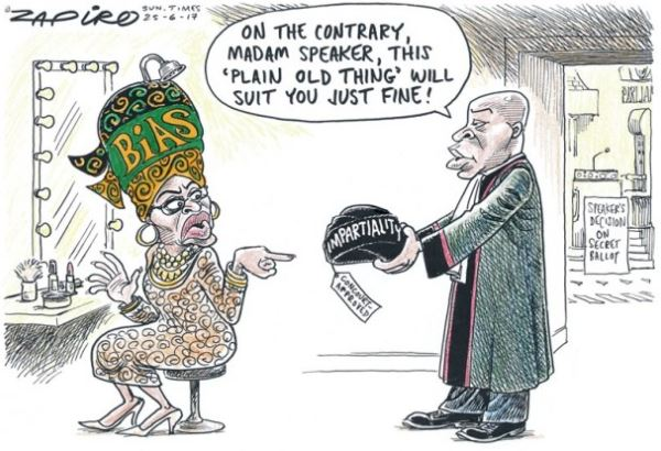 Secret ballot: Mbete has an opportunity to discard ANC hat in favour of SA