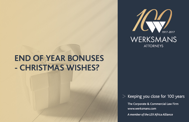 Sponsored - End of year bonuses - Christmas wishes?
