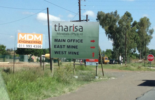 Tharisa on track with 2020