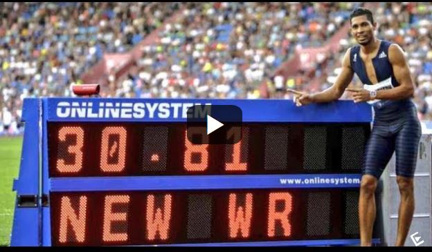 Wayde van Niekerk shatters 300m world record, enters history books