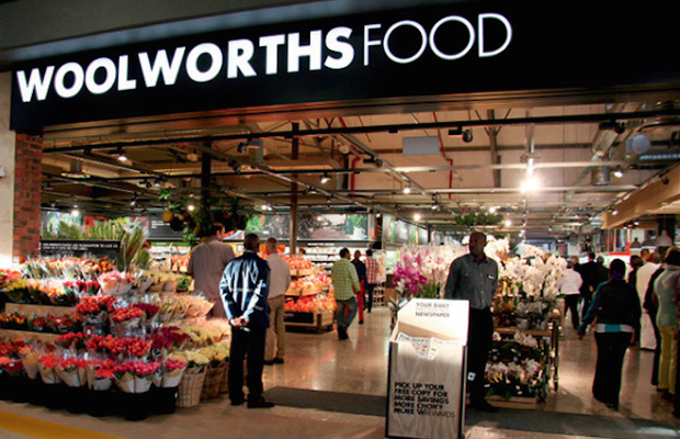 Woolworths soars on upbeat sales update